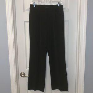 Anne Klein Size 8 Black Stretch Pants
